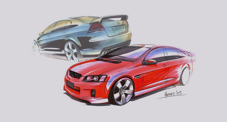 Vehicle Design Sketches